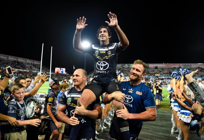 Perfect ton for Thurston in Townsville farewell