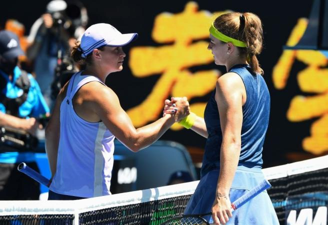 Muchova the big mover after shock Barty win