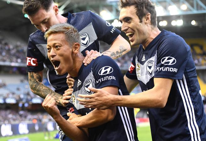 Keisuke Honda: The ridiculous stats powering Melbourne Victory