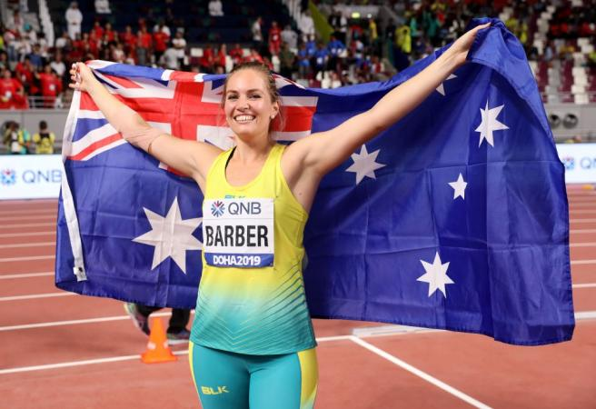 WATCH: Aussie takes home gold at World Championships