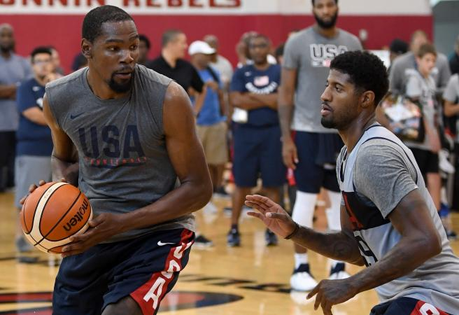 Paul George eager to head down under