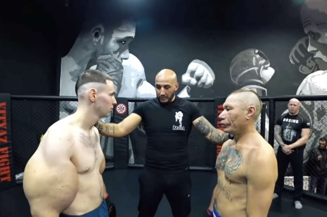 "Oleg Laten Porno bodybuilder ""popeye"" destroyed in mma fight | odds"