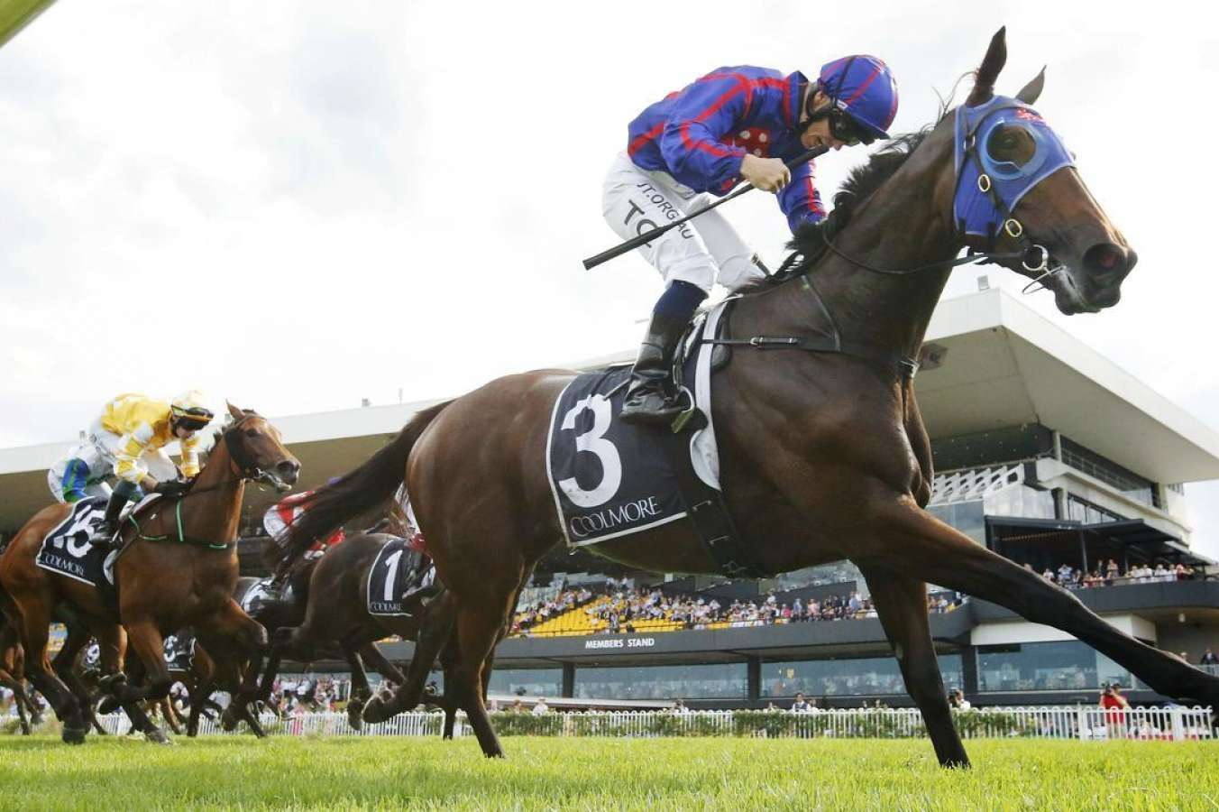 Krone wins Group 1 Coolmore Classic