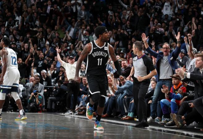 Kyrie Irving makes history in Nets debut but Brooklyn still go down