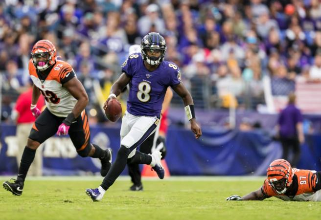 Lamar Jackson makes NFL history