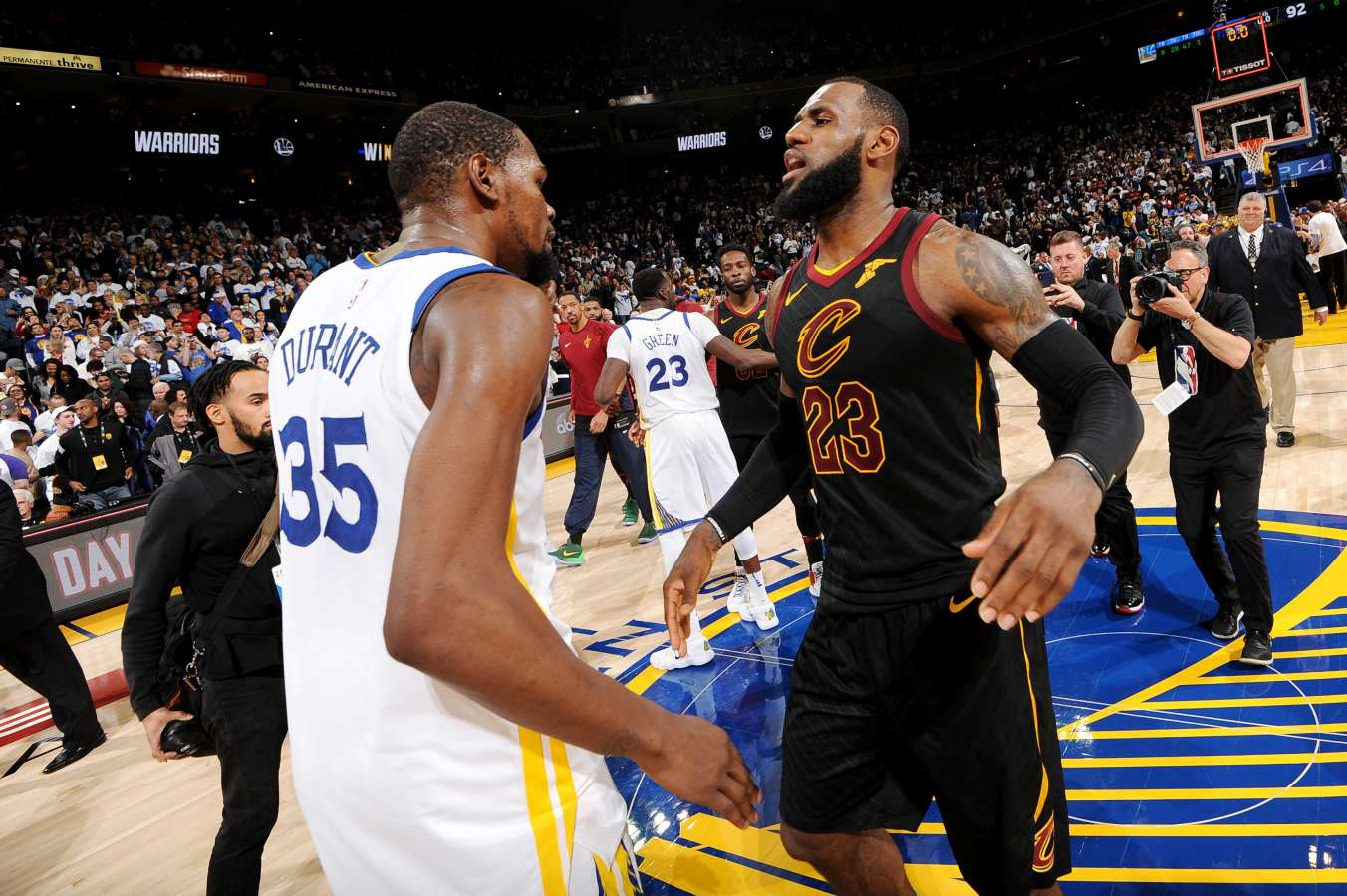 NBA Finals: Series props
