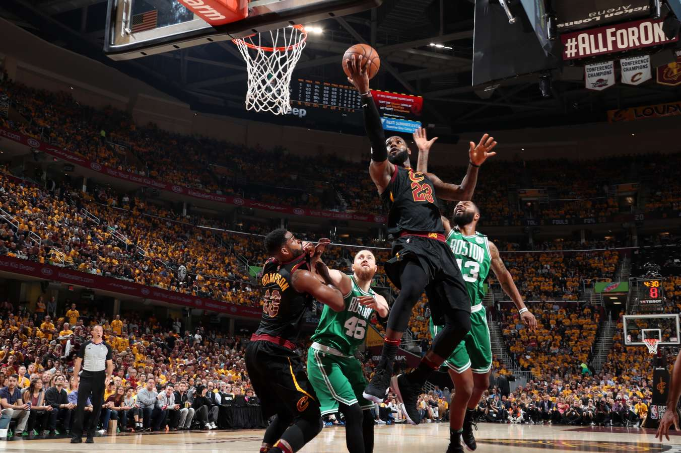 NBA Playoffs: Cleveland vs Boston Game Four Preview