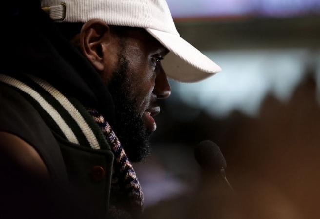 LeBron James unloads on cheating scandal