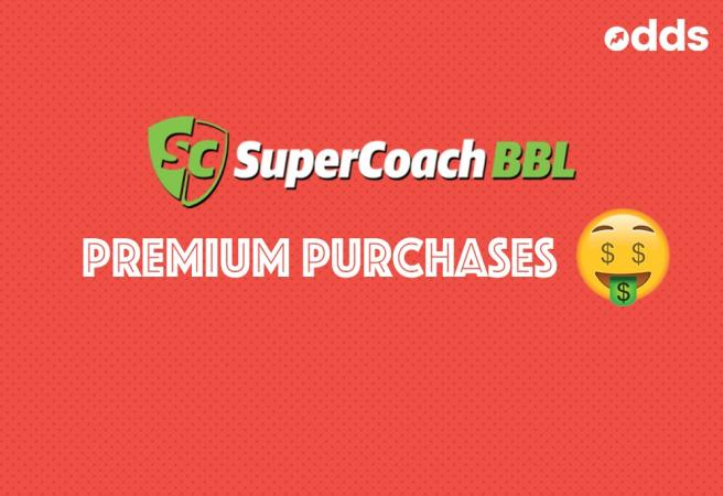 SuperCoach BBL: Premium Purchases