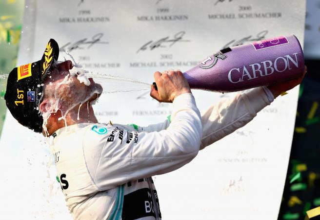 Valtteri Bottas leaves big names in his dust in Aus Grand Prix win