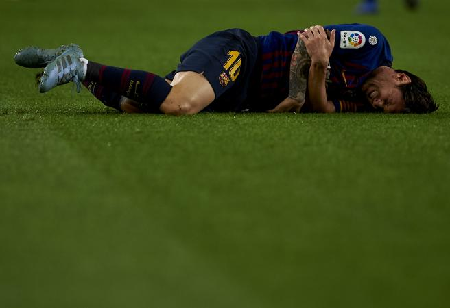 Messi fractured arm changes Champions League betting outlook