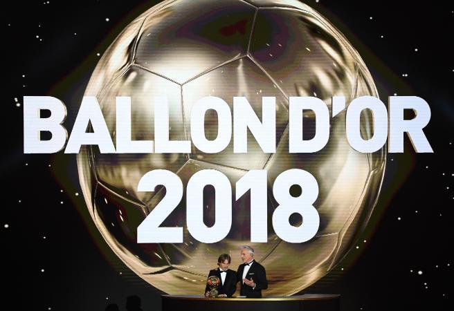 Ballon d'Or winners announced