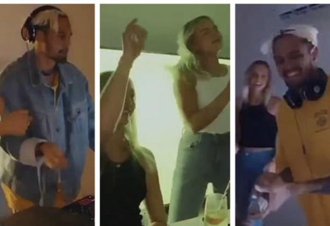 Trio of Fremantle players exposed for attending a house party