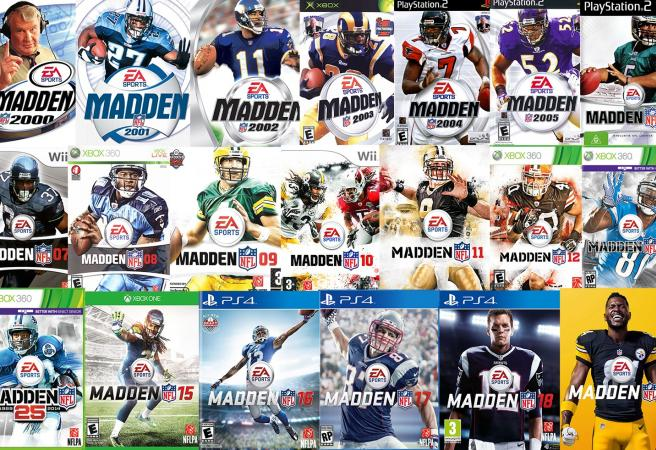Ranking every Madden cover from the last 20 years