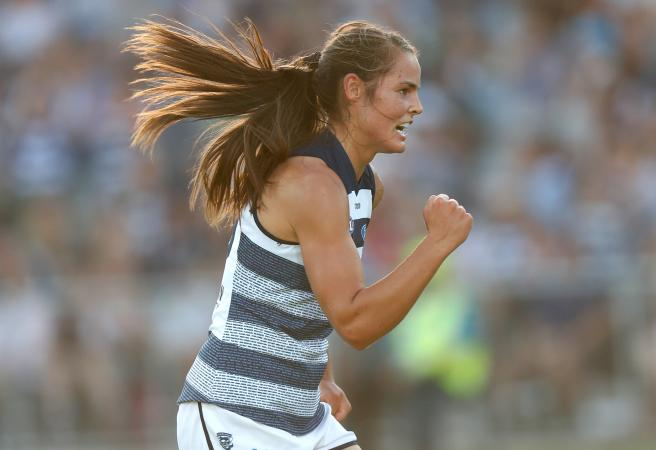 Historic Night: Geelong win first AFLW game over Collingwood