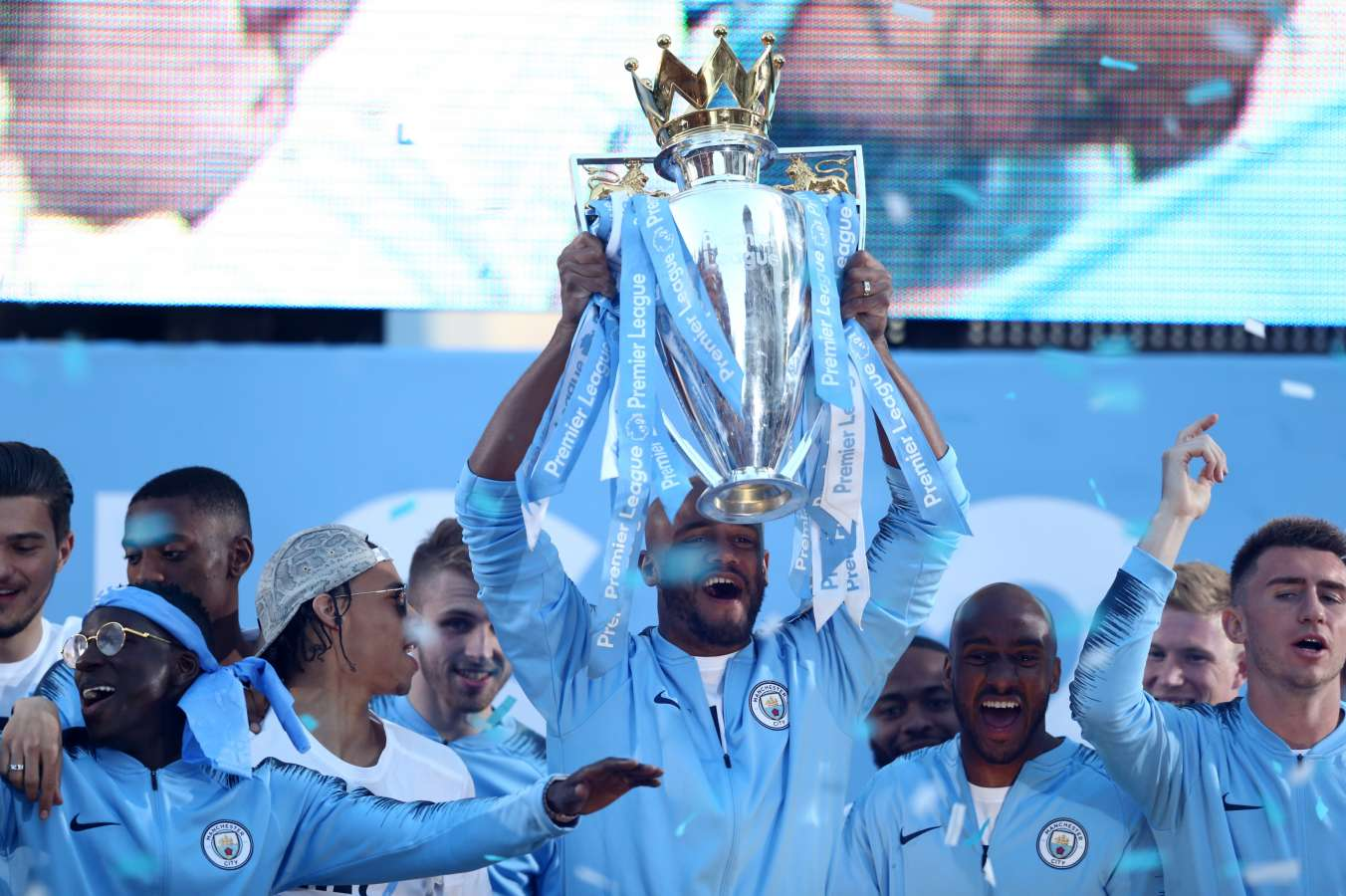 Man City installed as Premier League favourites for 2018/19