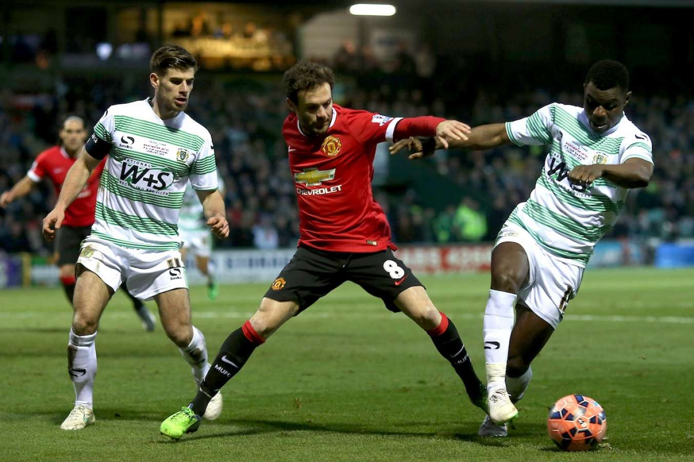 FA Cup 4th Round: Yeovil Town vs Manchester United