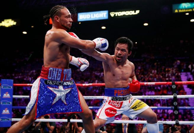 Manny Pacquiao: Fight of the year goes to the Filipino