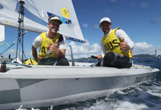 Sailors eye off more gold - Aussies in action Day 12