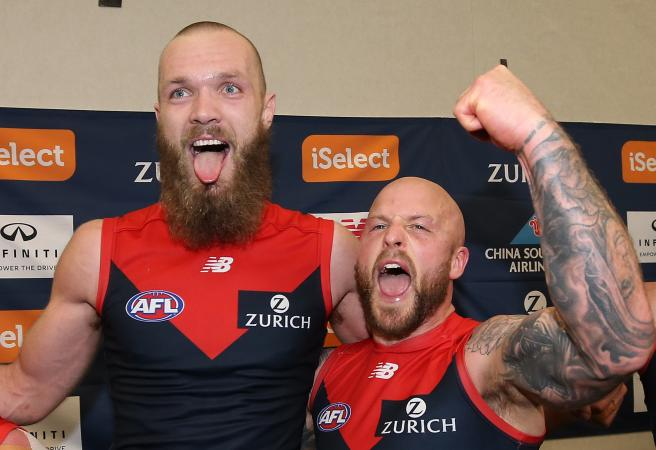 Chris Judd Party Pooper: Time for Melbourne to be non-human