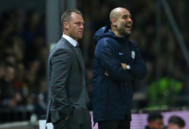 Newport coach enters elite awkward handshake club!