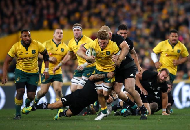 Second-half onslaught sees All Blacks smash Wallabies
