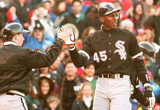 WATCH: Michael Jordan's baseball highlights