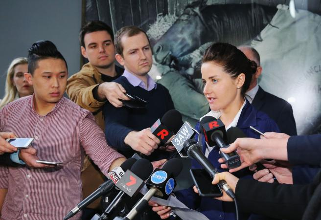 Michelle Payne fined for swearing in tweet