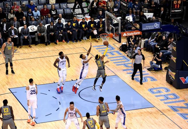 Simmons drops double-double but weakened 76ers fall to Grizzlies