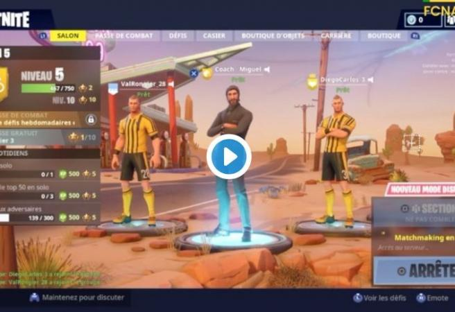 Nantes use Fortnite clip to announce new signing