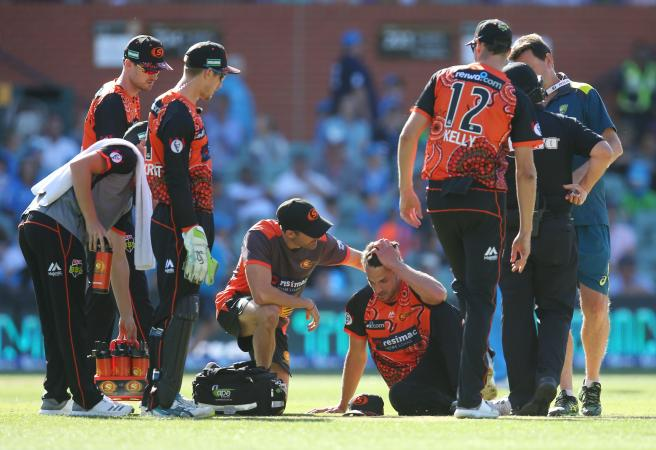 Coulter-Nile Collapse: Scary moment for Scorchers