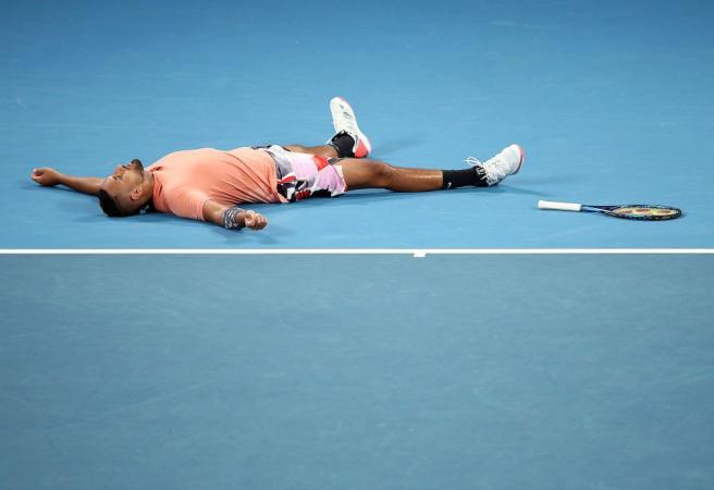 Australian Open: Kyrgios wins epic Russian roulette match