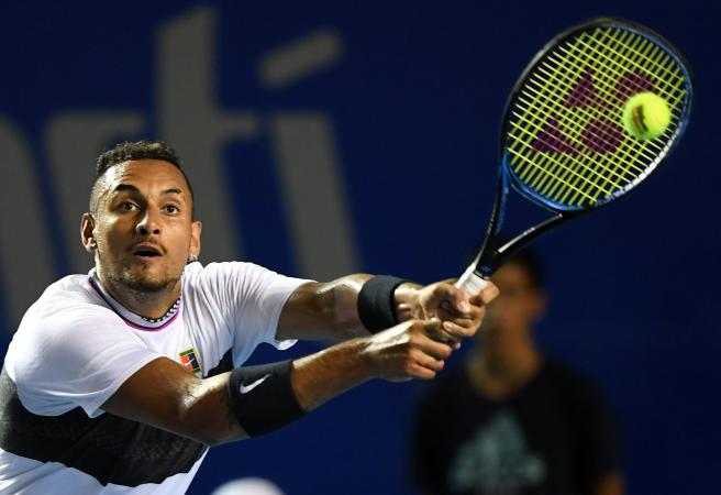 Another day, another dramatic match for Nick Kyrgios