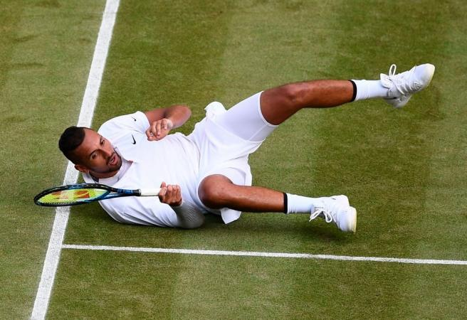 WATCH: Plenty of fireworks as Kyrgios goes down to Nadal