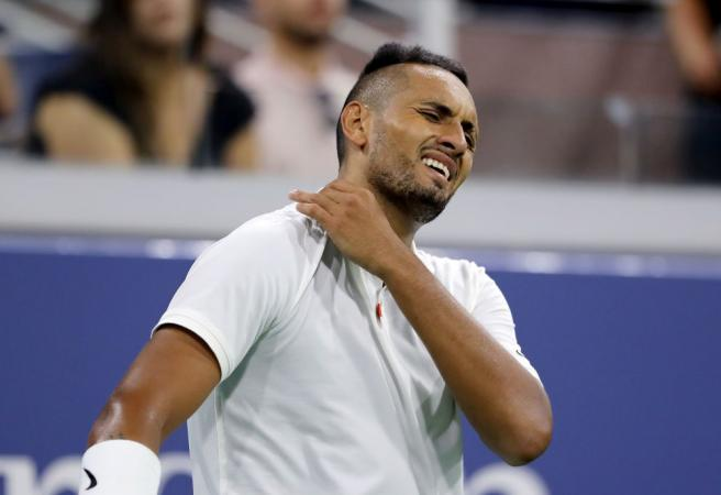 Nick Kyrgios bundled out of US Open