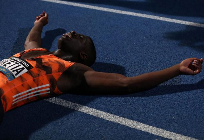 17-year-old takes wins 100m title at Australian Championships