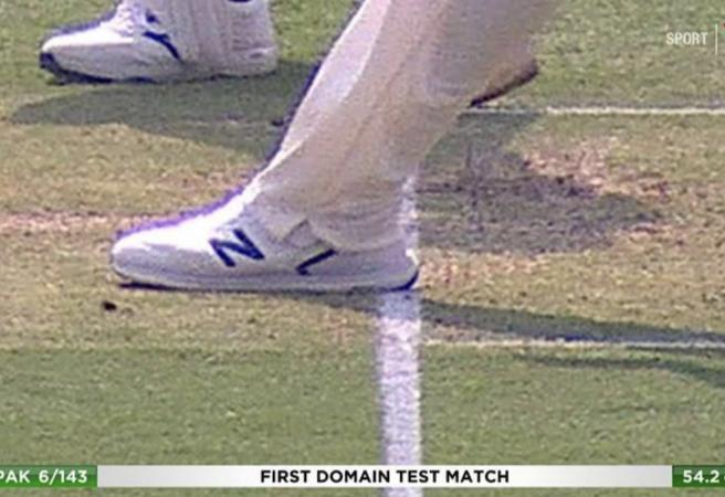 Controversial call rocks Day One of the 1st Test
