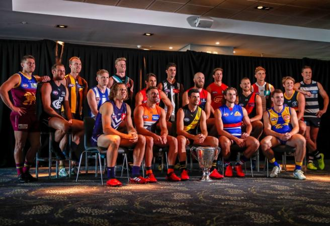 Every AFL club's captain for 2020