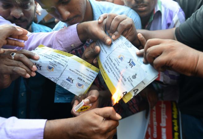 """""""Release the Snakes"""": Protestors threaten to unleash snakes on IPL stadium"""