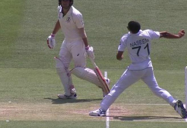 WATCH: 16-year-old denied first Test wicket after bowling a no-ball