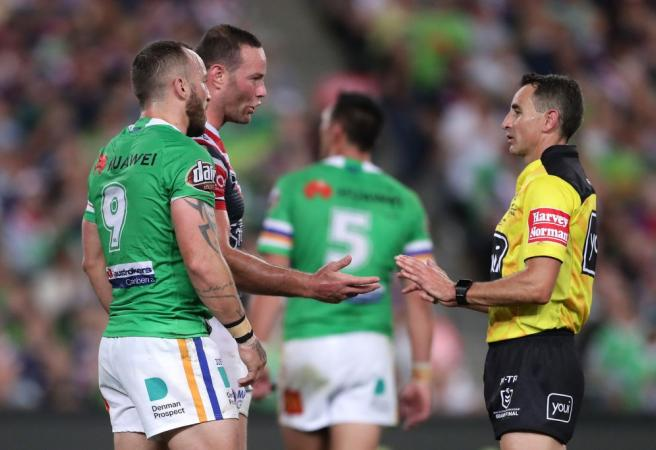 WATCH: The officiating error that changed the NRL Grand Final