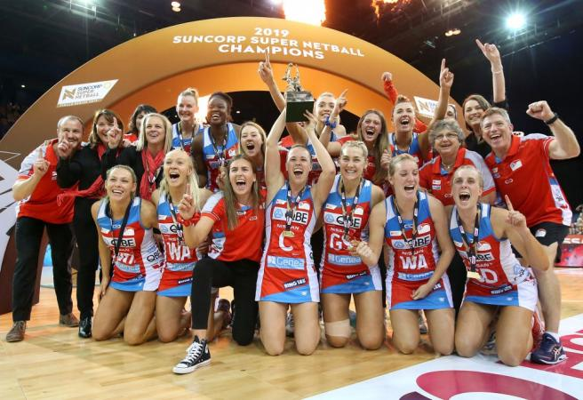 Swifts crowned Super Netball champions