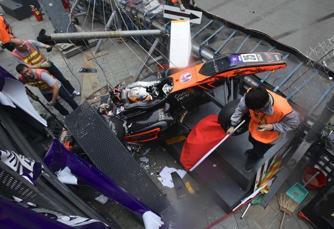 No risk of paralysis for Sophia Floersch after horror Macau crash