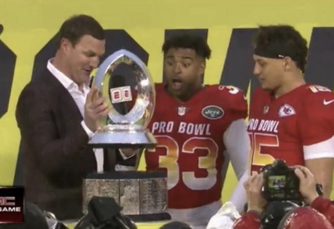 The best bits from the Pro Bowl