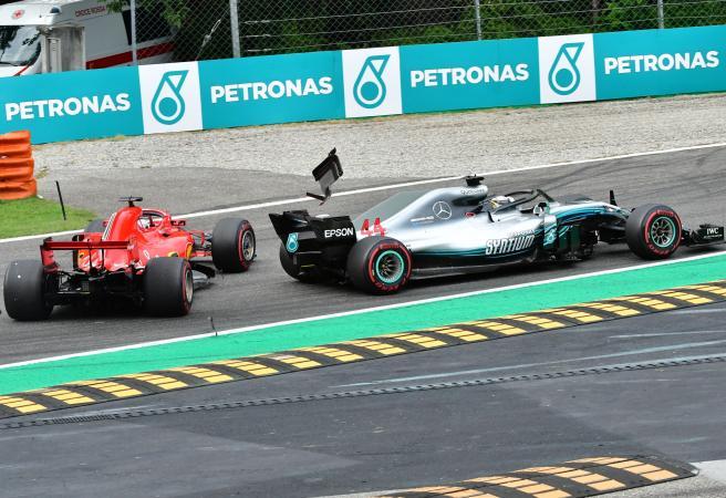 Lewis Hamilton wins controversial Italian Grand Prix