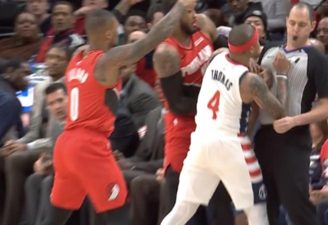 WATCH: NBA player ejected 88 seconds into game