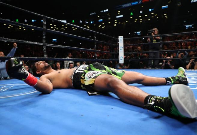 WATCH: Deontay Wilder stuns world with brutal KO