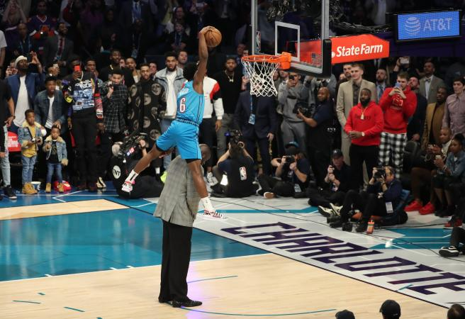 Every dunk from this year's NBA Dunk Contest