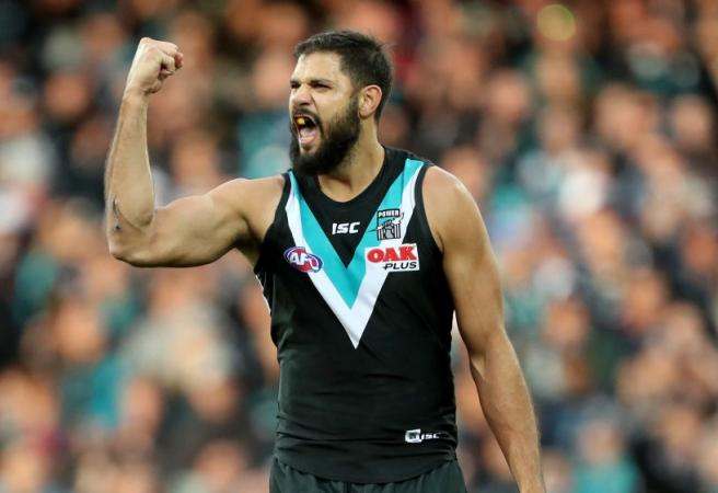 Port Adelaide and St Kilda agree to blockbuster trade