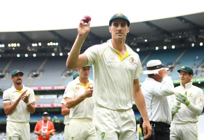 Cummins takes six, India declare and in control at the 'G